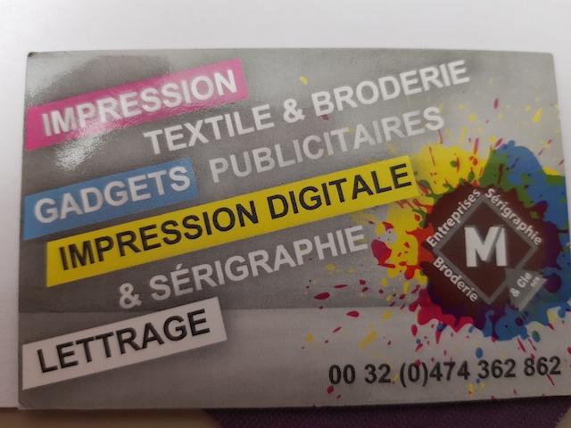 Entreprise M.V.& Cie Impression tous supports